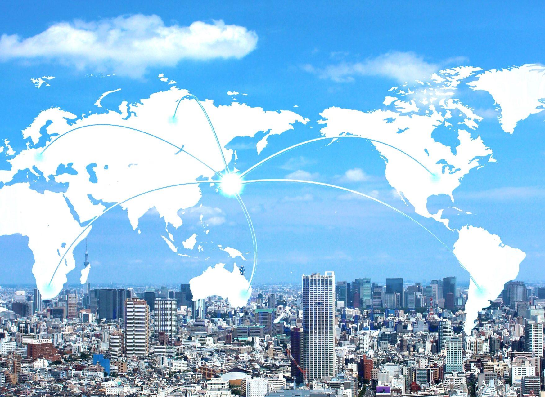 輸出入貿易事業